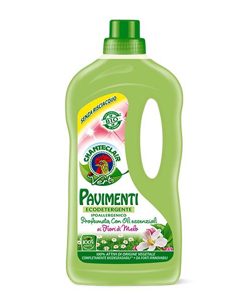 Chante Clair Vert Pavimenti Eko Fiori di Melo, ekologický čistič podlah s esenciálními oleji z jablečných květů 1 l.