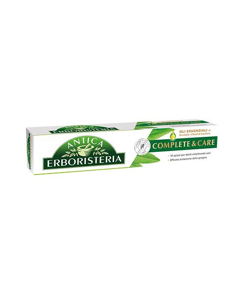 Antica Erboristeria Complete & Care con Oli Esenziali, zubní pasta pro kompletní ochranu 75 ml.
