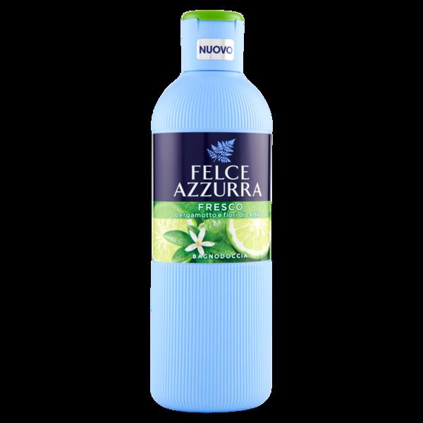 Felce Azzurra Fresco Bergamotto e Gelsomino, sprchový gel/koupelová pěna 650 ml.