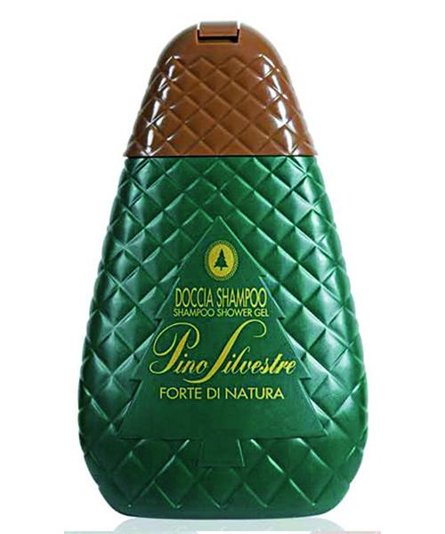 Pino Silvestre Forte di Natura, pánský sprchový gel/vlasový šampon 400 ml.