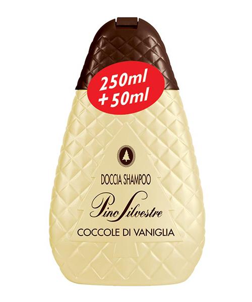 Pino Silvestre Doccia Shampoo Coccole di Vaniglia, sprchový šampón 250 ml.