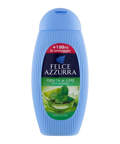 Felce Azzurra Doccia Gel Menta e Lime, osvěžující sprchový gel 400 ml.