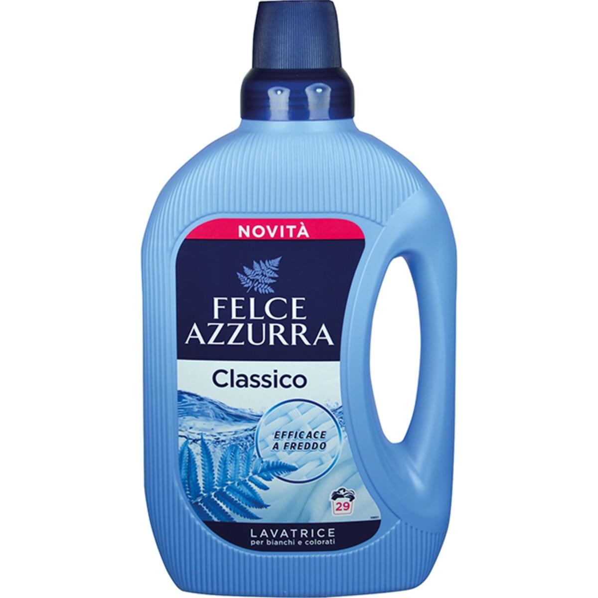 Felce Azzurra Detersivo Lavatrice Classico, prací gel 1,595 l., 29 pracích dávek