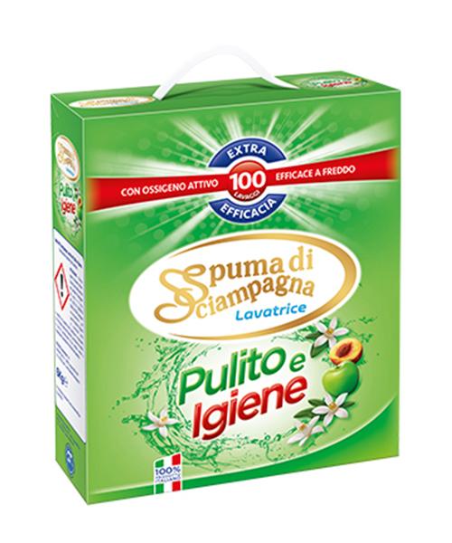 Spuma di Sciampagna Pulito e Igiene prací prášek 6 kg., 100 pracích dávek