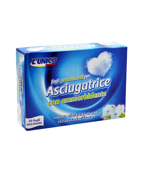 L´Unico Originale Asciugatrice parfémované ubrousky do sušičky 20 ks.