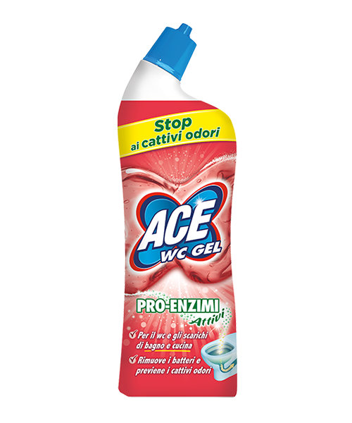 Ace WC Gel Pro-Enzimi Attivi 700 ml.