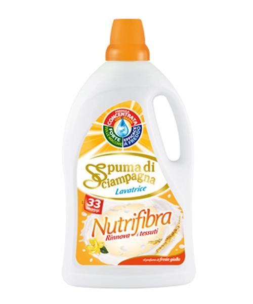 Spuma di Sciampagna Nutrifibra, prací gel 1,98 l. 33 pracích dávek