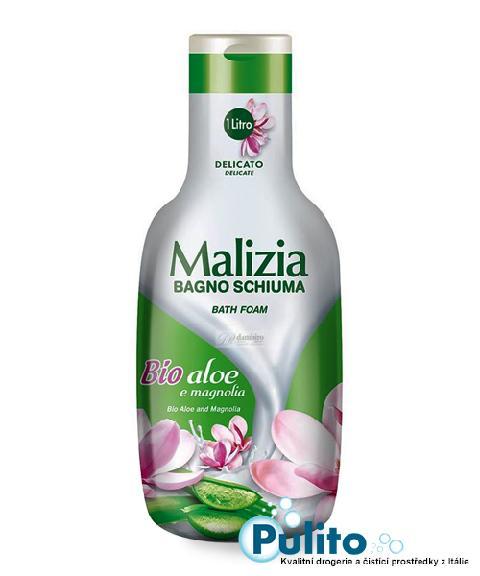 Malizia koupelová pěna Bio Aloe e Magnolia 1 l.