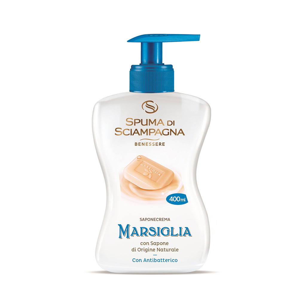 Spuma di Sciampagna Marsiglia antibakteriální tekuté mýdlo na ruce 500 ml.