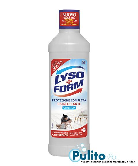 Lysoform Protezione Completa Disifettante Classico, dezinfekční přípravek 1,25 lt.