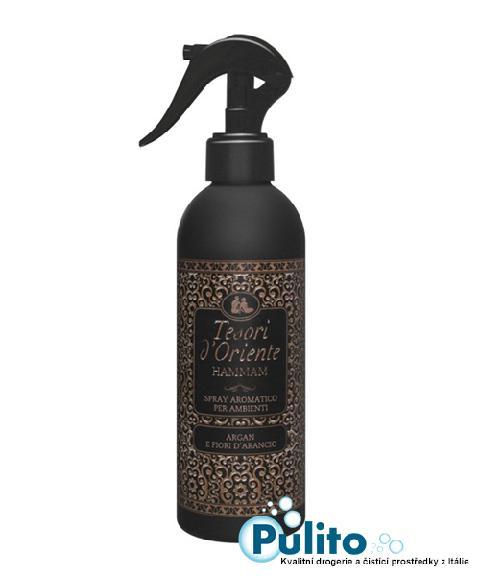 Tesori d´Oriente Spray Aromatico per Ambienti Hammam osvěžovač vzduchu v rozprašovači 250 ml.