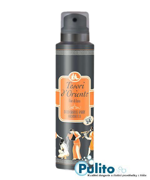 Tesori d´Oriente Fior di Loto deodorant ve spreji 150 ml.