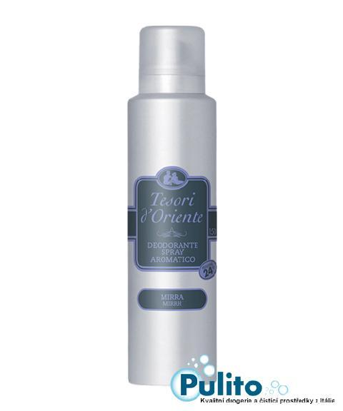 Tesori d´Oriente Mirra deodorant ve spreji 150 ml.