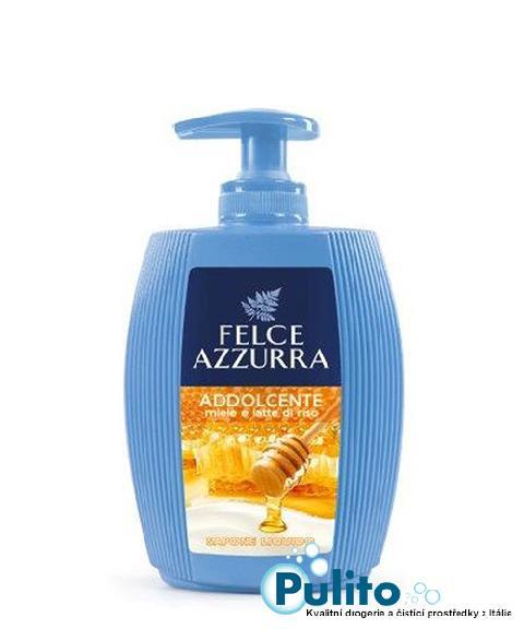 Felce Azzurra Miele e Latte di Riso tekuté mýdlo na ruce a obličej 300 ml.
