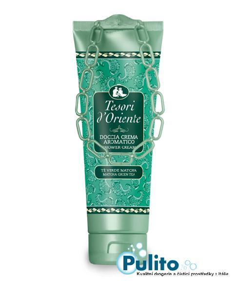 Tesori d´Oriente sprchový krém Té verde Matcha 250 ml.