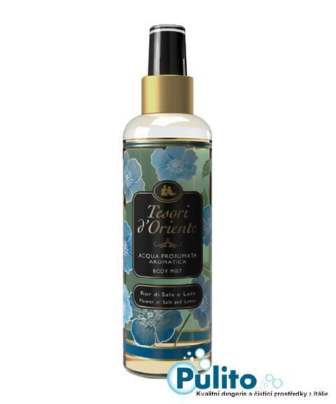 Tesori d´Oriente parfémovaný tělový sprej Fior di Sale e Loto 200 ml.