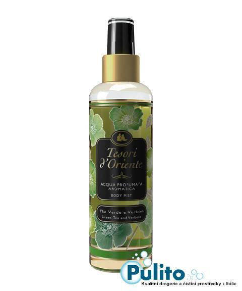 Tesori d´Oriente parfémovaný tělový sprej The Verde e Verbena 200 ml.