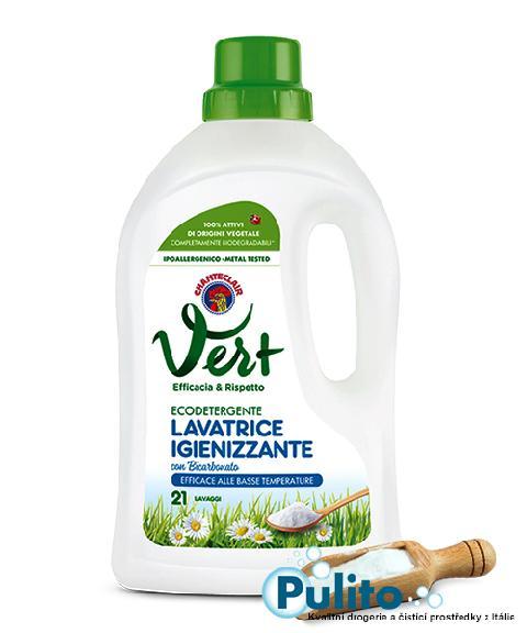 Chante Clair Vert Lavatrice Igienizzante con Bicarbonato, ekologický dezinfekční prací gel 1,071 l., 21 PD
