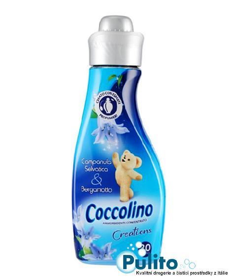 Coccolino Creations Campanula Selvatica e Bergamotto, koncentrovaná aviváž 750 ml., 30 PD