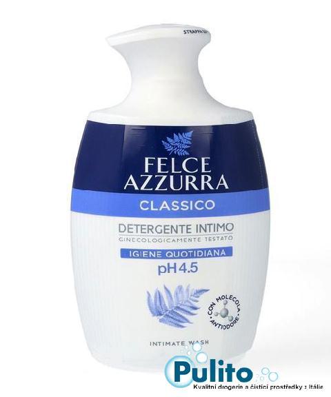 Felce Azzurra Intimo Classico, intimní gel 250 ml.