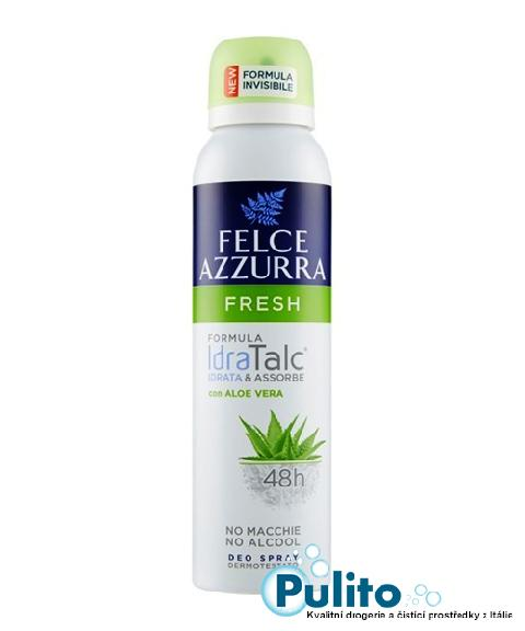 Felce Azzurra Deo Spray Fresh, tělový deodorant ve spreji 150 ml.