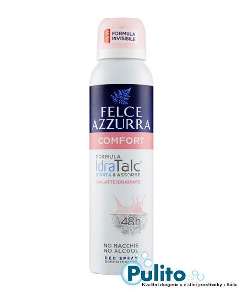 Felce Azzurra Deo Spray Comfort, tělový deodorant ve spreji 150 ml.