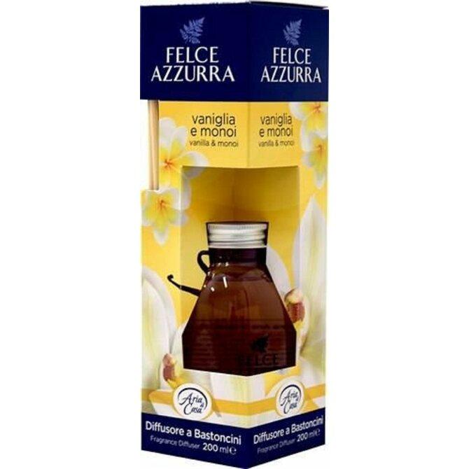 Felce Azzurra Diffusore a Bastoncini Vaniglia e Monoï bytový parfém s tyčinkami 200 ml.