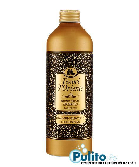 Tesori d´Oriente koupelová pěna Royal Oud 500 ml.