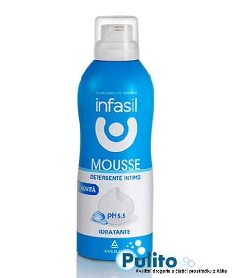 Infasil Mousse Idratante pH 5,5, intimní pěna 150 ml.