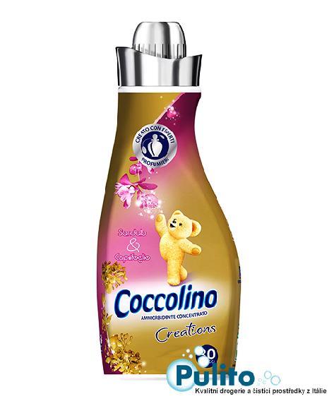 Coccolino Creations Sandalo e Caprifoglio, koncentrovaná aviváž 750 ml.