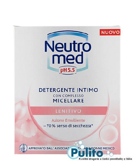 Neutromed pH 5,5 Lenitivo Micellare, intimní gel pro ženy v menopauze 200 ml.