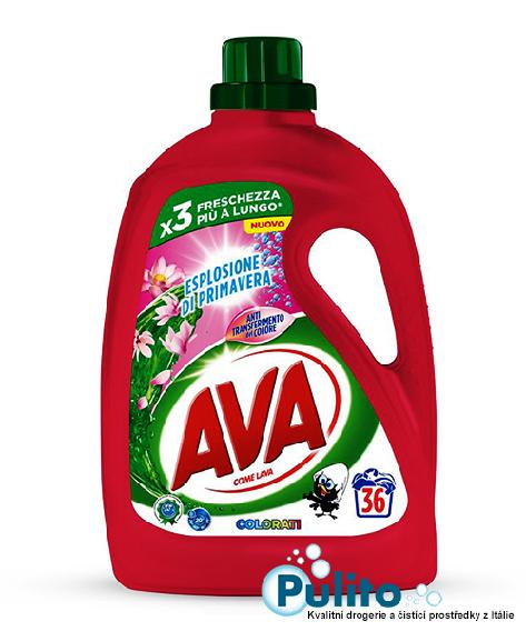 Ava Esplosione di Primavera prací gel na barevné prádlo 1,8 lt., 36 PD