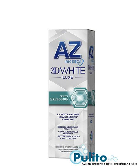 AZ 3D White Luxe White Explosion, extra bělící zubní pasta 75 ml.