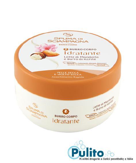 Spuma di Sciampagna vyživující tělové máslo 200 ml.