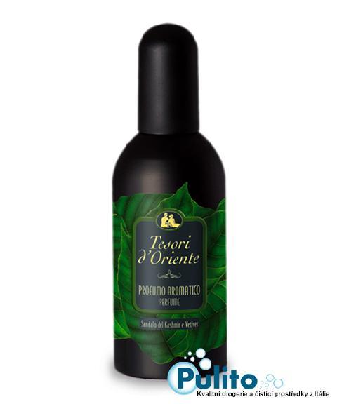 Tesori d´Oriente pánská parfémovaná voda (EDT) Sandalo del Kashmir e Vetiver 100 ml.