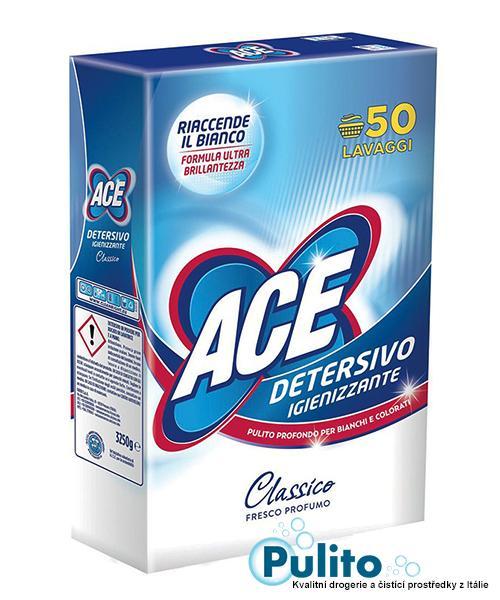 Ace Igienizzante Classico, dezinfekční prací prášek 3,25 kg.