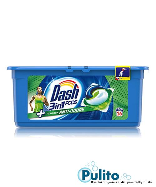 Dash 3v1 PODS Anti-odore gelové kapsle 26 ks.