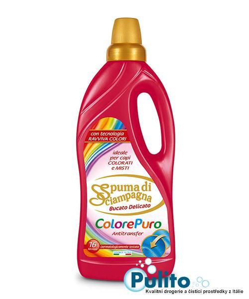Spuma di Sciampagna Colore Puro prací gel na barevné prádlo 1 l., 16 PD