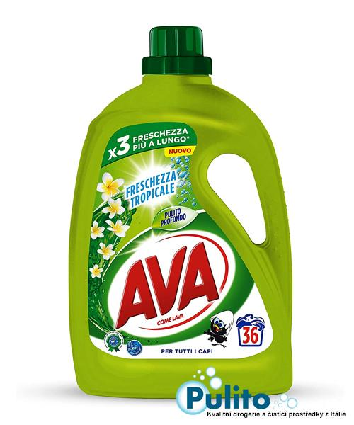 Ava Freschezza Tropicale prací gel 1,8 l, 36 PD