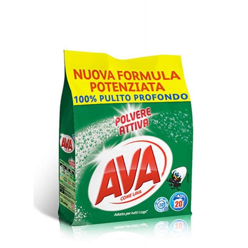 Ava Polvere Attiva prací prášek 1,3 kg, 20 pracích dávek