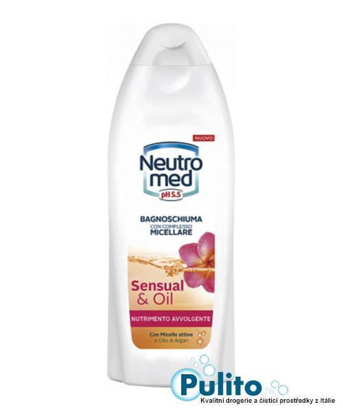 Neutromed Sensual Oil pěna do  koupele s arganovým olejem 600 ml.