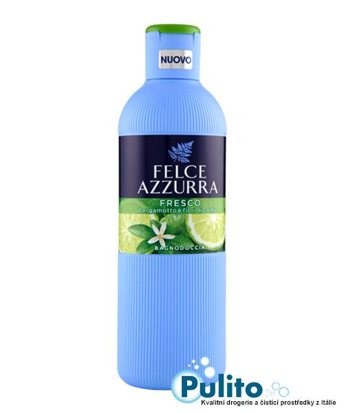 Felce Azzurra Fresco Fiori di Cedro e Gelsomino, sprchový gel/koupelová pěna 650 ml.