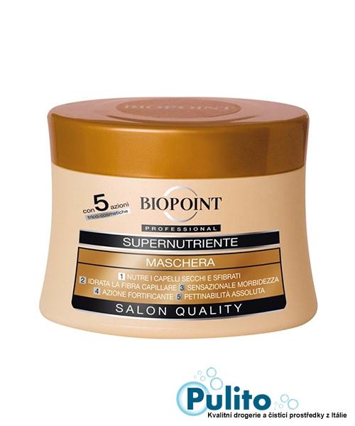 Biopoint Supernutriente Maschera Capelli, super výživná maska na jemné vlasy 250 ml.