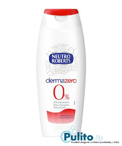Neutro Roberts Derma Zero 0%, sprchový gel/koupelová pěna 500 ml.