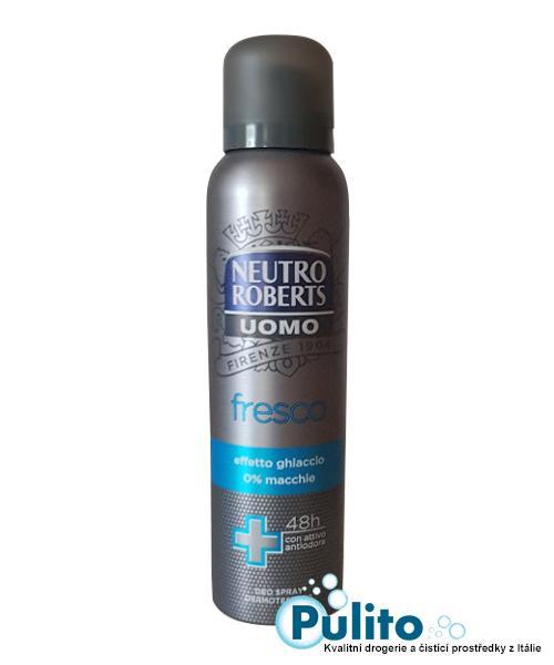 Neutro Roberts Uomo Deo Spray Fresco, pánský deodorant 150 ml.