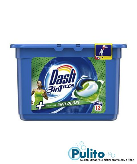 Dash 3v1 PODS Anti-odore gelové kapsle 13 ks.