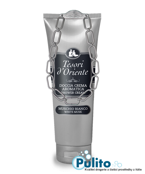 Tesori d´Oriente sprchový krém Muschio Bianco 250 ml.