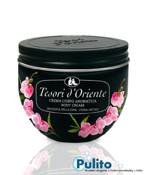 Tesori d´Oriente tělový krém Orchidea della Cina 300 ml.