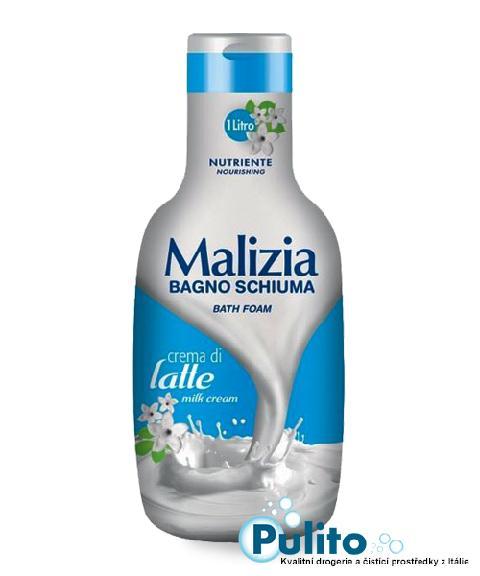 Malizia koupelová pěna Crema di Latte 1 l.