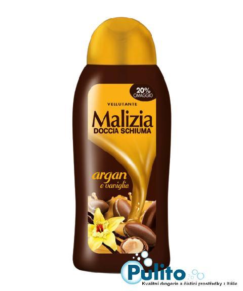 Malizia sprchový gel Argan e Vaniglia 300 ml.